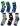 Minecraft strumpor 6-Pack