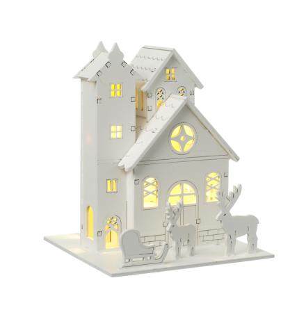 Julhus med renar
