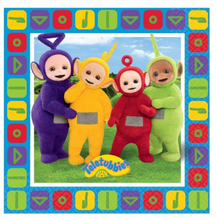 Servetter Teletubbies 16 Pack