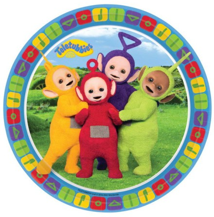 Papperstallrikar Teletubbies