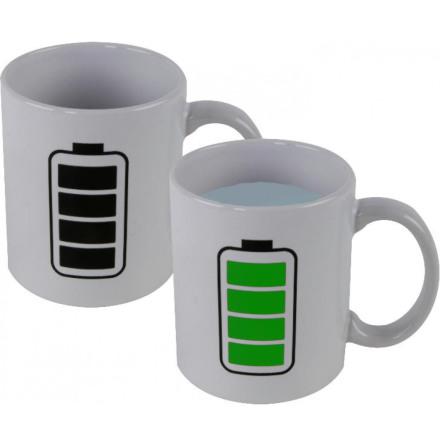 Värmekänslig mugg Batteri