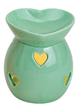 Aromalampa Grönt Hjärta