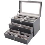 Glasögonlåda/Glasögonbox 18 glasögon