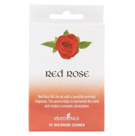 Rökelse Koner - Röd Ros