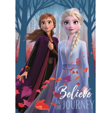 Fleecefilt Anna/Elsa