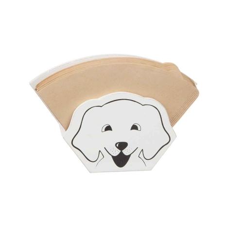Kaffefilter hållare Hund