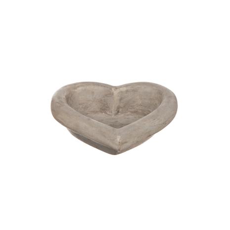 Hjärta i betong Stor