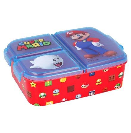Matlåda Super Mario 3-fack