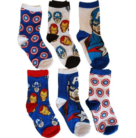 Avengers strumpor 6-Pack