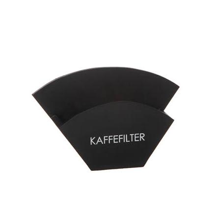 Kaffefilter hållare Svart