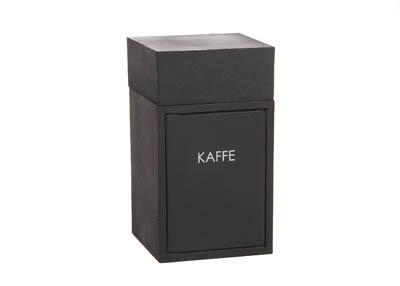 Trälåda Kaffe Svart