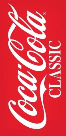 Badlakan / Handduk Coca Cola